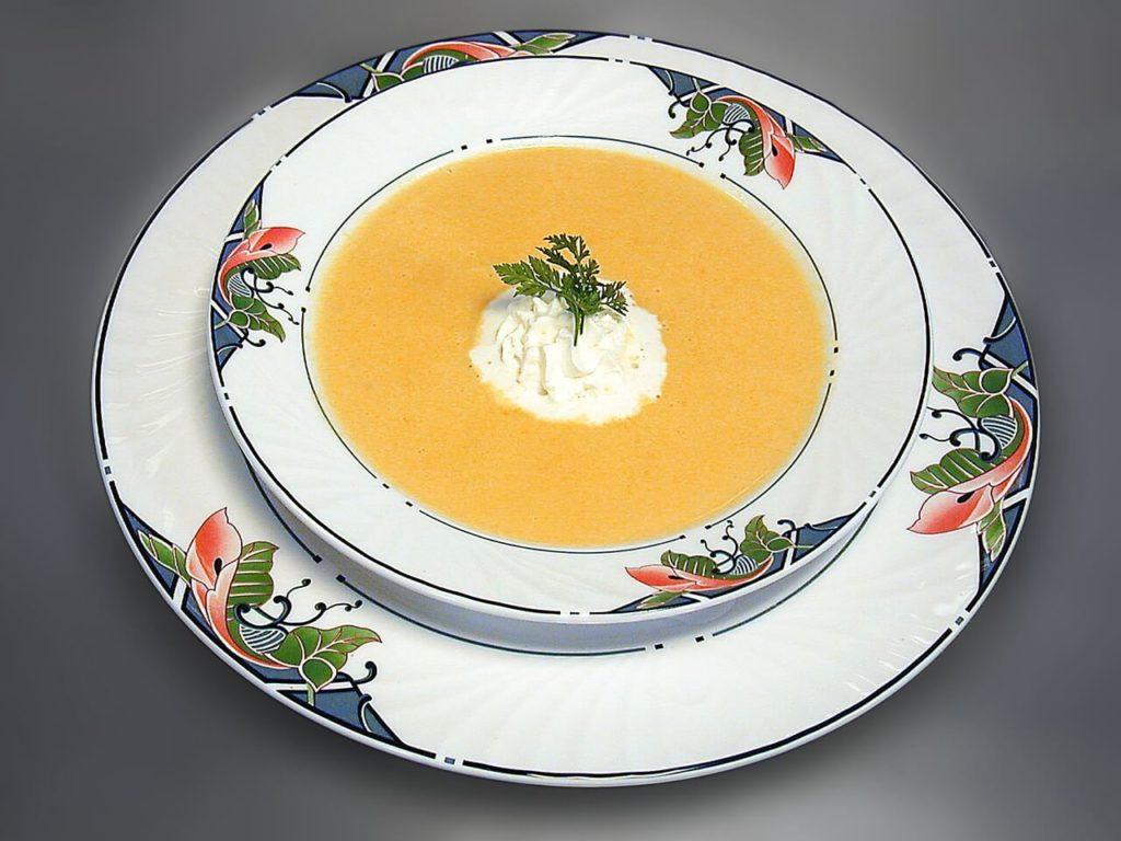Kürbissuppe-mit-Ingwer
